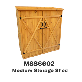 MSS6602 - Medium Storage Shed