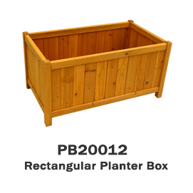 PB20012 - Rectangular Planter Box