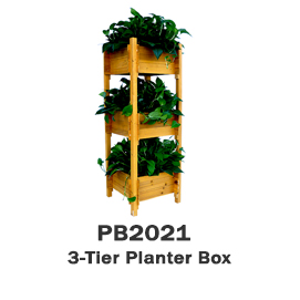 PB2021 - 3-Tier Planter Box