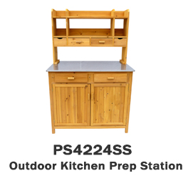 PS4224SS - Outdoor Kitchen Prep Station