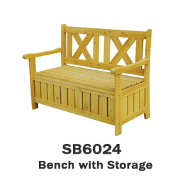 SB6024 - Bench with Storage