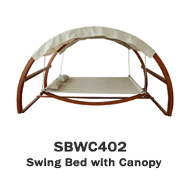 SBWC402 - Swing Bed with Canopy