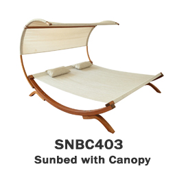 SNBC403 - Sunbed with Canopy