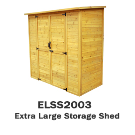 ELSS2003 - Extra Large Storage Shed