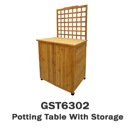 GST6302 - Potting Table With Storage